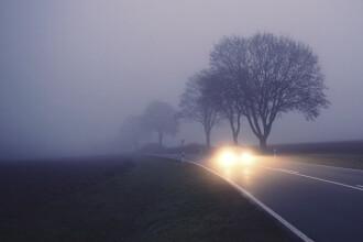 Alertă ANM: Cod galben de ceață în Capitală și în alte 25 de județe