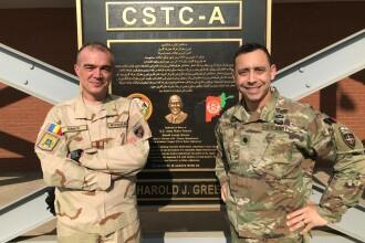 Un român, responsabil de pregătirea forțelor de securitate internă din Afganistan