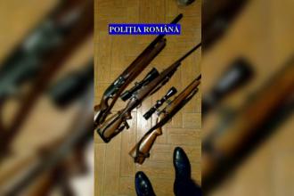 Bărbat din Brașov, cercetat de poliție după ce și-a ucis porcii cu pușca de vânătoare