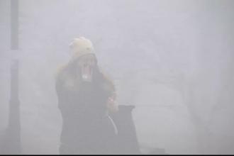 Ministru: Poluarea de duminică noaptea din București a fost provocată de arderi de deșeuri