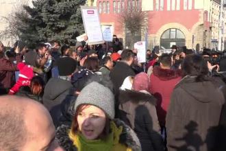 Protest la Târgu Mureș, după declarațiile primarului: