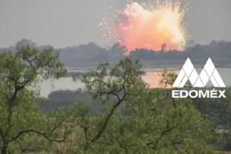 Explozie devastatoare la un depozit de artificii. Doi oameni au murit