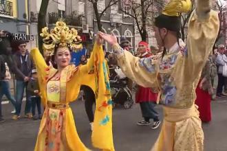 Noul An Chinezesc, sărbătorit și la Lisabona. Spectacol inedit și sute de participanți. VIDEO