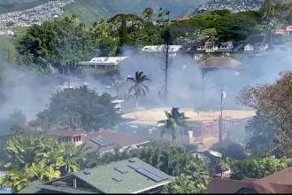 Atac armat în Hawaii, urmat de un incendiu puternic. Cel puțin doi polițiști, împușcati