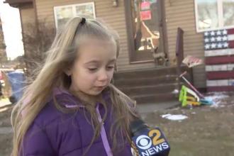 O fetiță din SUA, eroină la șase ani. Cum și-a salvat părinții din incendiu