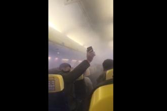 """Avion Ryanair aterizat de urgență pe Otopeni. Pasager: """"A fost o experienţă traumatizantă"""""""