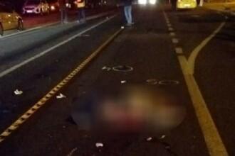 Scene de groază pe DN 6. O femeie a fost lovită de patru mașini