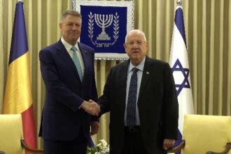 Iohannis participă la forumul dedicat comemorării victimelor Holocaustului