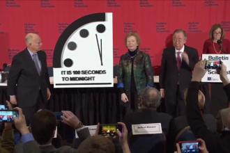Ceasul Apocalipsei, mai aproape ca niciodată de