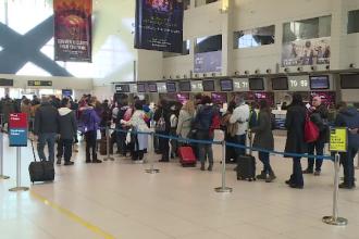 Ce mesaje au apărut în aeroportul Otopeni după declanșarea epidemiei de coronavirus