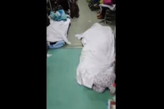 VIDEO. Cadavrele persoanelor ucise de coronavirus, abandonate pe holurile spitalelor din Wuhan