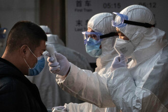 China alocă aproape nouă miliarde de dolari pentru a ţine sub control epidemia de coronavirus
