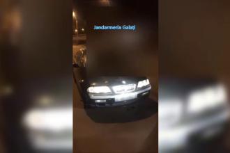 VIDEO. Șofer de BMW fără permis. A fost prins când circula beat și cu farurile stinse