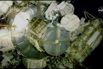 VIDEO. Defecțiune la Stația Spațială. Cum a fost reparată de un astronaut