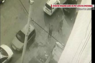 VIDEO. Momentul în care un bărbat este lovit cu o bâtă în cap de un tânăr fără adăpost. Victima, la un pas de moarte