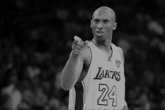 Tragedie uriașă în lumea baschetului. Kobe Bryant a murit într-un accident de elicopter, alături de fiica sa Gianna
