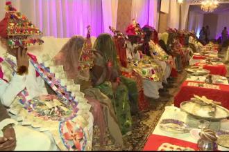 Nuntă neobișnuită în Pakistan: 80 de cupluri s-au căsătorit în același timp. Care este motivul