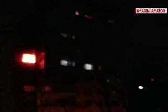 Incendiu puternic într-un apartament din Capitală. Proprietara a ajuns la spital cu arsuri