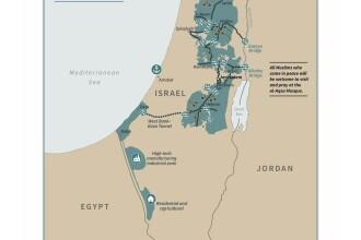 Cum arată Palestina şi Israelul prevăzute de planul de pace al lui Trump în Orientul Mijlociu