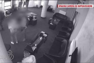 VIDEO. Angajata unui bar, lovită cu bestialitate de un bărbat care a pierdut la păcănele