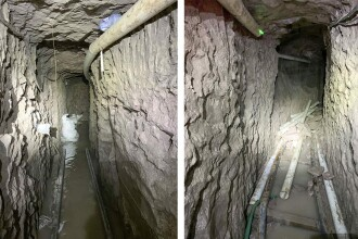 A fost descoperit cel mai lung tunel folosit pentru traficul de droguri între Mexic și SUA. Ce se află în interior