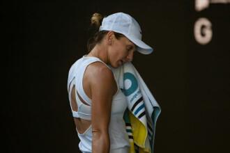 """Simona spune că a suferit de căldură în meciul cu Muguruza. """"M-a omorât după primul set"""""""
