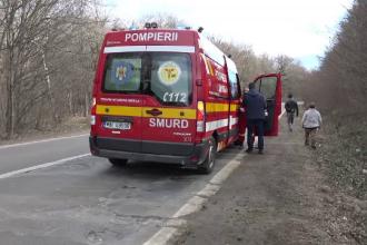 Băiat de 7 ani din Botoșani, lovit grav de o mașină în timp ce vindea urzici