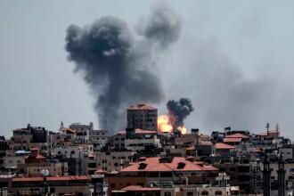 Israelul a atacat cu rachete Fâșia Gaza, după ce palestinienii au lansat 2 proiectile