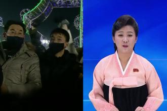 VIDEO. Revelionul în Coreea de Nord. Ce s-a văzut la televiziunea publică