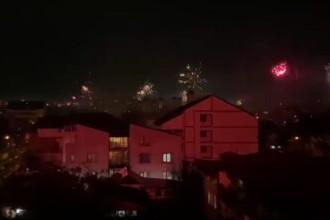 Artificiile au inundat cu lumină marile orașe, de Revelion