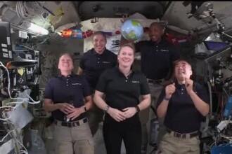 Astronauţii de pe Staţia spaţială internaţională au sărbătorit Revelionul de 16 ori