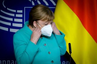 Angela Merkel vede o