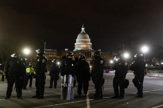 Haos în SUA. Cel puțin 4 persoane au murit după ce susținătorii lui Trump au luat cu asalt Capitoliul