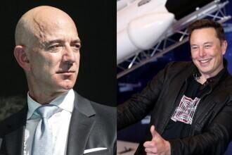 Elon Musk l-a depășit pe Jeff Bezos și a ajuns cel mai bogat om de pe planetă