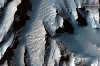 "Imagini spectaculoase cu planeta Marte, oferite de NASA. Ce este ""Valles Marineris"""