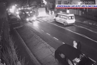 Un bărbat din judeţul Cluj, spulberat de o maşină pe trecerea de pietoni