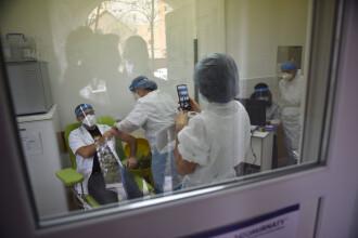 Aproape 9.600 de români au fost vaccinați anti-COVID în ultimele 24 de ore