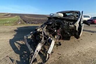 Accident șocant în Botoșani. Un tânăr a pierdut controlul volanului, în timp ce conducea cu 180 km/h