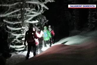 Patru bărbaţi s-au rătăcit duminică seară în munţii Bucegi. Au fost găsiți de salvamontiști