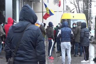 Protest în fața primăriei Galați, după majorarea impozitului pentru vehicule cu 55%