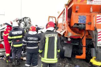 Șase oameni au murit în accidente din cauza vitezei. Pericol de explozie din cauza unui TIR plin cu butelii de oxigen
