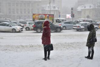 Vremea azi, 13 ianuarie. Ninsori în majoritatea zonelor, ger în următoarele zile