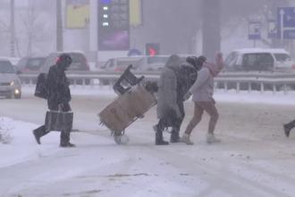 Ninsorile au afectat grav Europa. Mii de locuințe au rămas fără curent în Suedia și Finlanda
