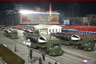 VIDEO. Coreea de Nord a prezentat