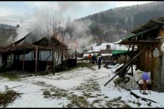 Un bărbat din județul Neamț și-a găsit sfârșitul în locuința sa cuprinsă de flăcări