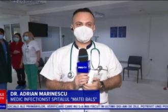 """Medicul infecționist Adrian Marinescu: """"Ne vom întoarce la viața normală probabil după vară"""""""