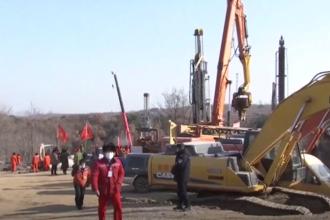 Semne de viață într-o mină din China, unde de o săptămână sunt blocați 22 de mineri