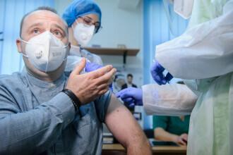 Managerul spitalului Sf. Parascheva din Iași nu a avut nicio reacție adversă la vaccin. Duminică a primit rapelul