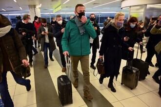 Reacții internaționale, după ce Aleksei Navalnîi a fost arestat la întoarcerea în Rusia