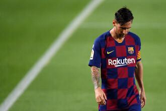 Messi a primit primul cartonaş roşu de când joacă la FC Barcelona